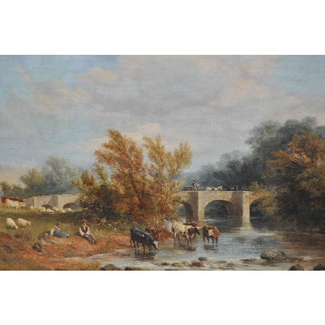 "James Baker Pyne ""Downham, Norfolk"" Original Oil Painting - Image 3 of 11"