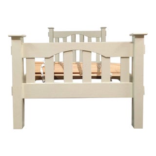 "Pottery Barn Kids ""Kendall"" Twin Bed in White"