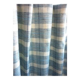 Light Blue & Ivory Home Decor Fabric