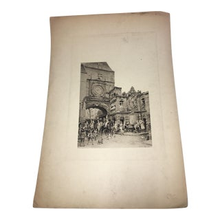 1880's Charles Edouard Delort Lithograph