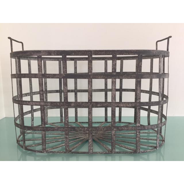 Image of Vintage Zinc Basket