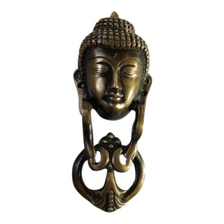 Brass Buddha Door Knocker