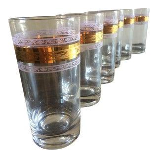Mid-Century Cocktail Glasses - Set of 6