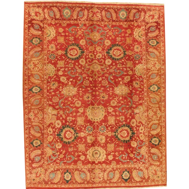 Pasargad Agra Oriental Wool Area Rug - 9'x12' - Image 1 of 2