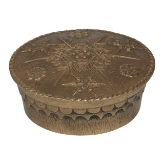 Max Le Verrier Lidded Bronze Dish