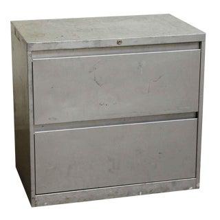 Reclaimed Steel Cabinet