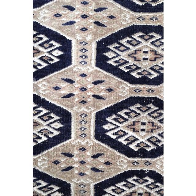 Jaldar Pakistani Wool & Cotton Rug - 2′6″ × 3′ - Image 2 of 4