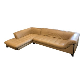 Roche Bobois Leather Sectional