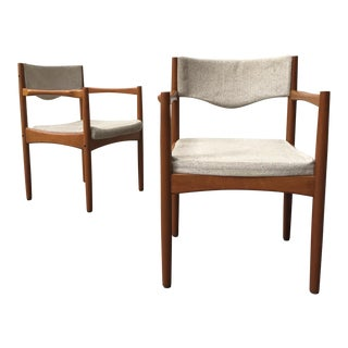 Mid-Century Teak Chairs by Ingmar Thillmark for Mobler - A Pair