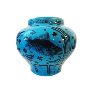 Ming Dynasty-Style Turquoise Vase