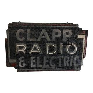 1930s RADIO Neon Sign