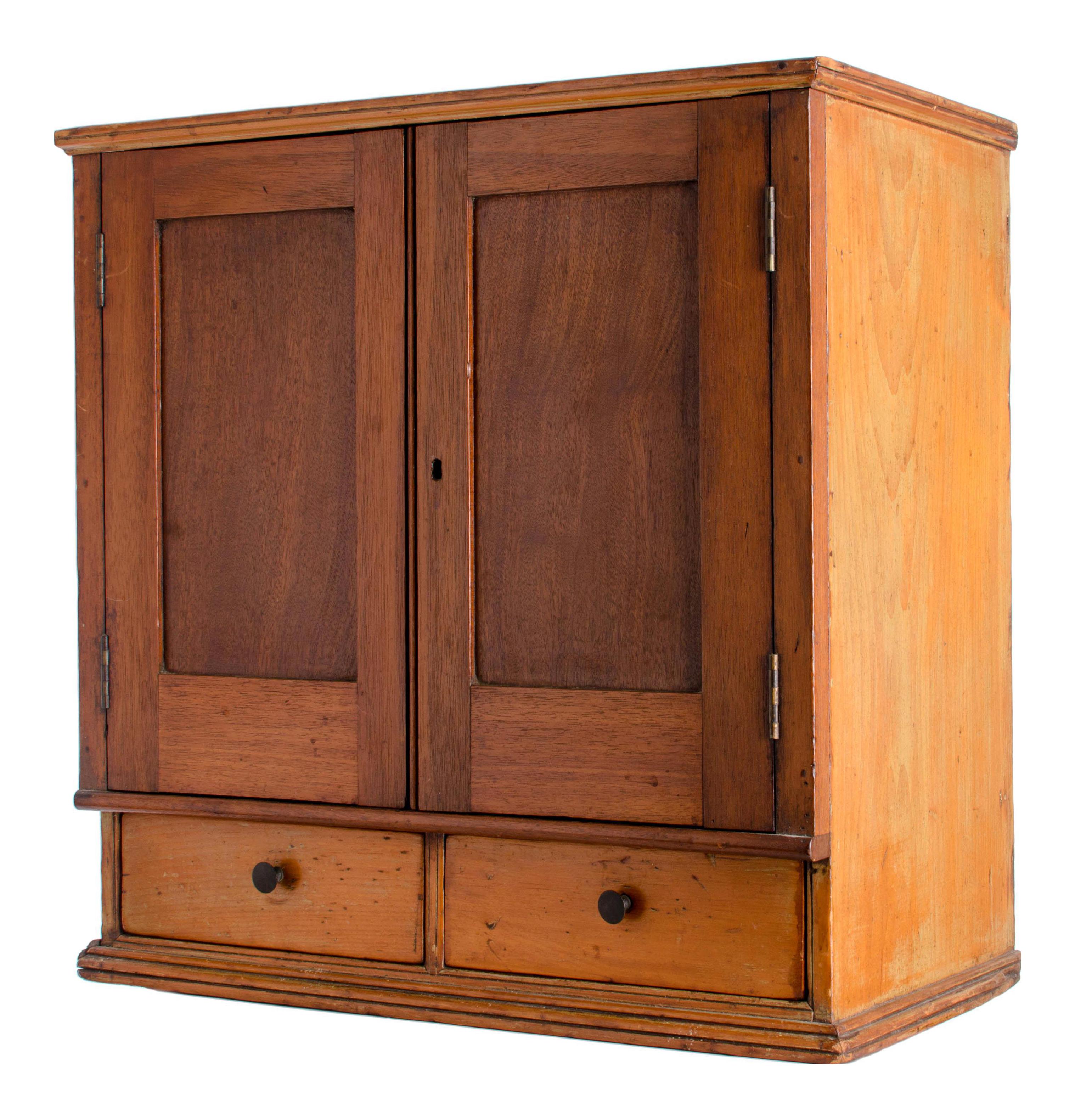 Antique Document Cabinet