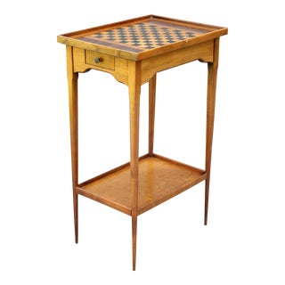 English Edwardian Games Table