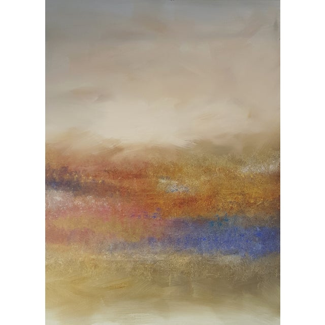 """Land's End"" Impressionist Landscape Painting - Image 1 of 3"