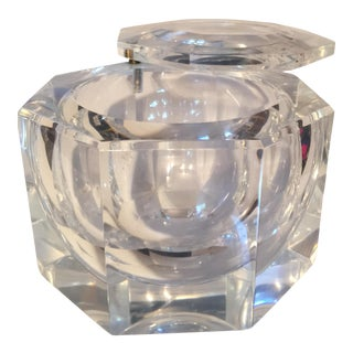 Alessandro Albrizzi for Kazam Lucite Ice Bucket