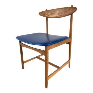 Sculptural Danish Modern Accent Chair