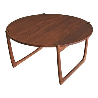1950's Peter Hvidt & Orla Molgaard Nielsen for France & Søns Teak Coffee Table