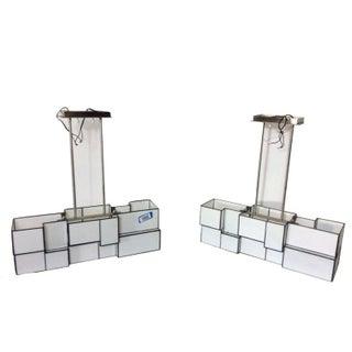 Hanging Light Box Fixtures - Pair