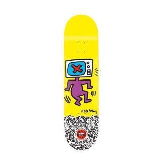 Rare Keith Haring Tv Head Skate Deck