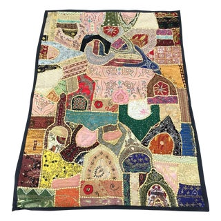 Hand-Embroidered Shisha Blanket