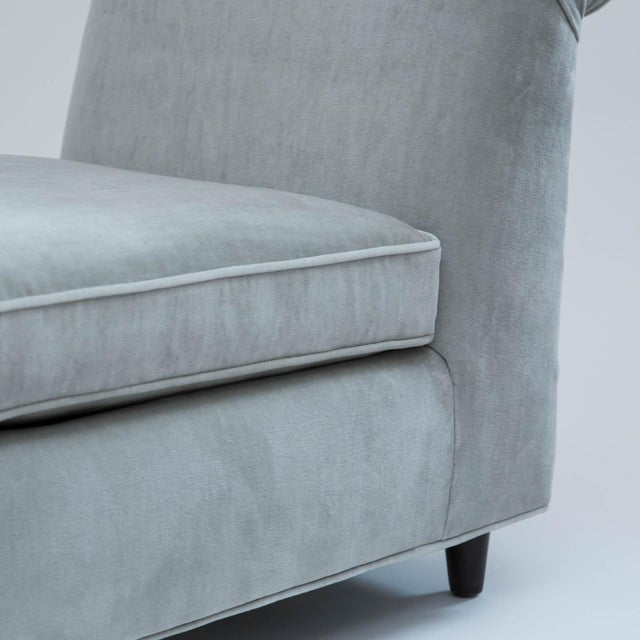 Mid-Century Slipper Chairs - A Pair - Image 9 of 10