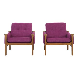 Poul Cadovius Lounge Chairs - A Pair