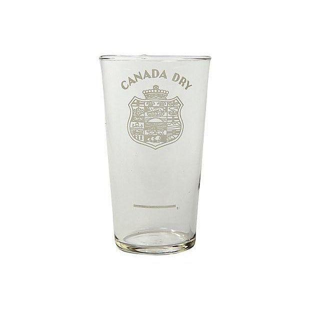 Image of 1950's Canada Dry Glasses - Set of 4