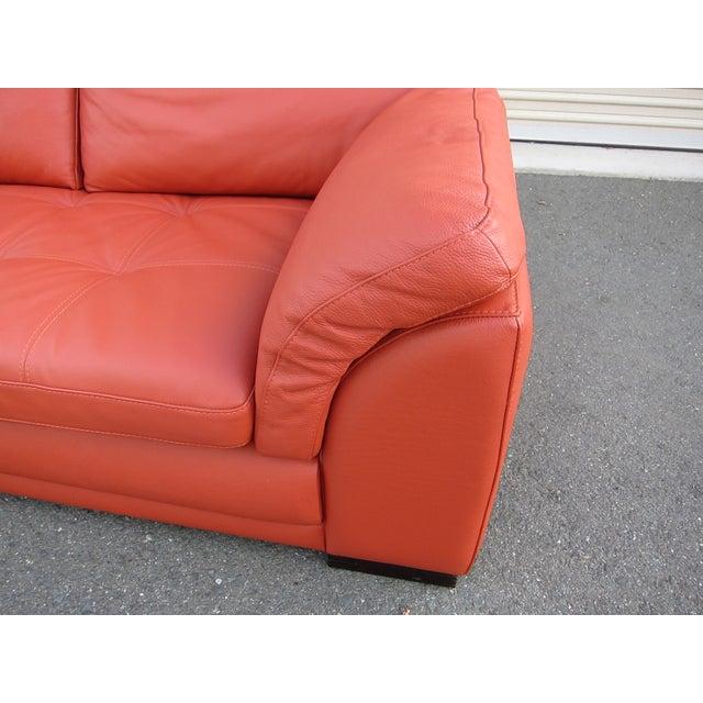 Roche Bobois Sunset Orange Sectional Sofa - Image 9 of 9