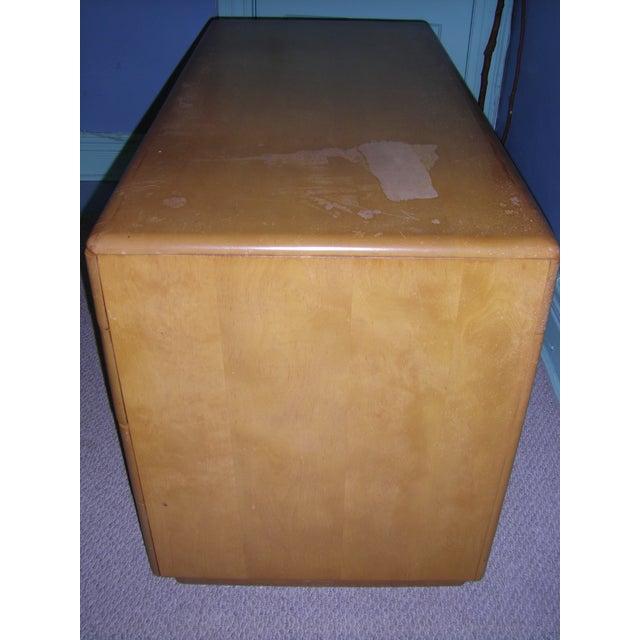 Heywood Wakefield Keyhole Desk & Chair - Image 4 of 11