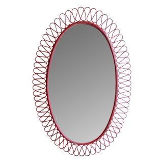 Vintage Iron Mirror