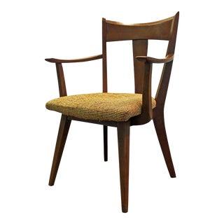 Mid-Century Danish Modern Heywood Wakefield Cadence Office Accent Arm Chair