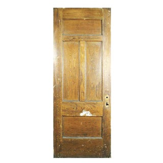 Four Panel Chestnut Door
