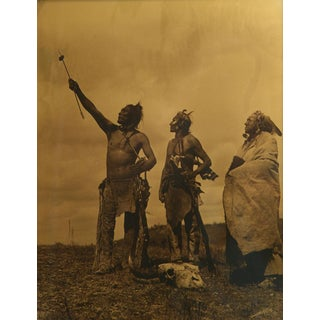 Edward S. Curtis (1868-1952) - The Oath - Apsaroke