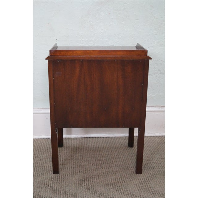 Drexel Heritage Chippendale-Style Nightstand - Image 4 of 10