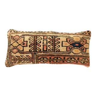 19th Century Hamadan Fragment Lumbar Pillow