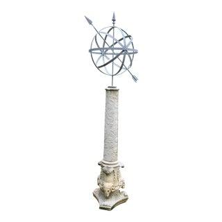 Monumental armillary
