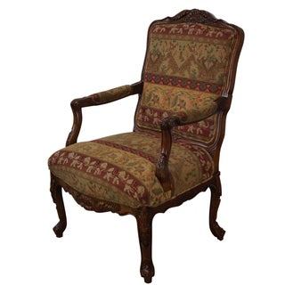 Hancock & Moore Louis XV Style Fauteuil Armchair