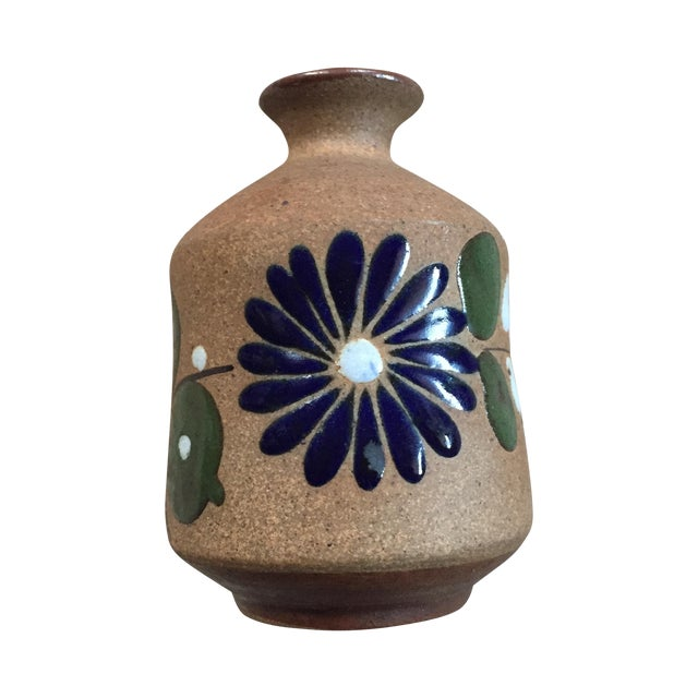 Mexican Hand-Painted Bud Vase - Image 1 of 9