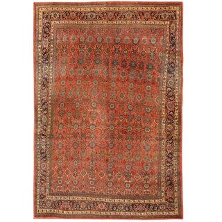 Antique 19th Century, Persian Bidjar Carpet
