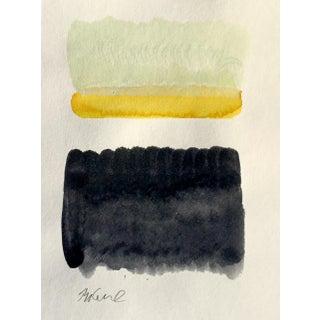 """Asphalt 1"" Watercolor & Acrylic Painting"