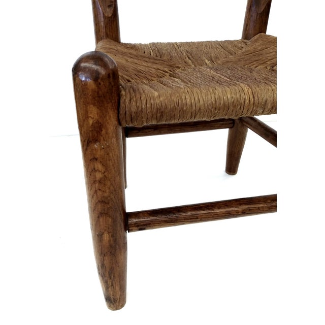 Antique French Farm Child's Chair - Image 2 of 10