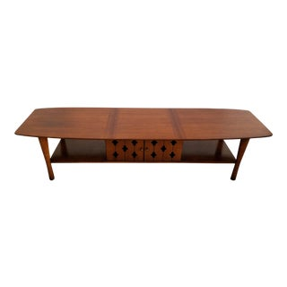 Henredon Vintage Walnut Coffee Table