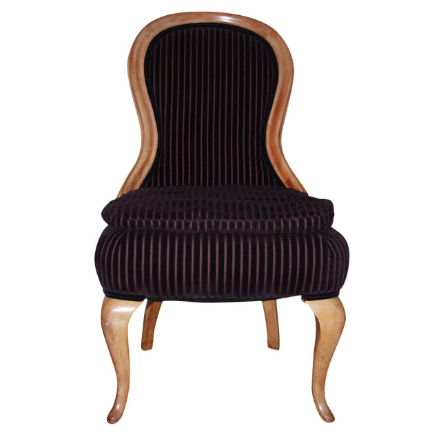 Image of French Hourglass Dining Chairs -Set of 4