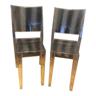 Philippe Starck for Kartell La Marie Lucite Chairs - A Pair