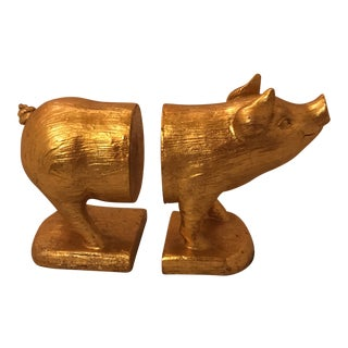 Oh You Pig! Bookends - A Pair