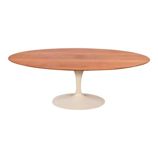 Eero Saarinen Oval Walnut Dining Table for Knoll