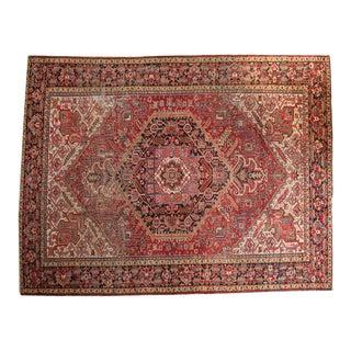 """Vintage Heriz Carpet - 9'3"""" X 12'"""