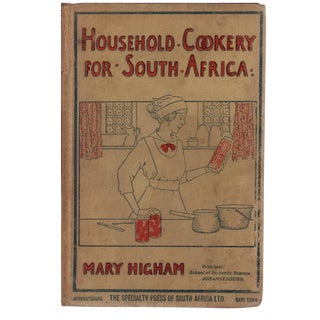Household Cookery for South Africa