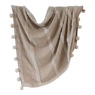 Zenza Boho Nomad Woven Cotton Throw