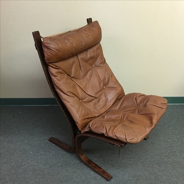 Westnofa Leather Siesta Chair - Image 2 of 11